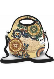 Bolsa Térmica Shop House Mandala Indiana Multicolorida