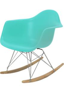 Cadeira Eames Com Braco Base Balanco Tiffanny Fosco - 43638 Sun House