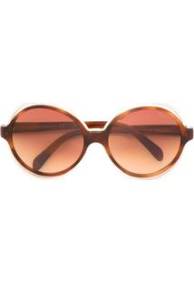 a866af55863ae Óculos De Sol Emilio Pucci Marrom feminino   Shoelover