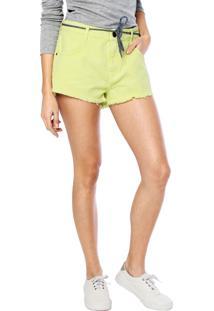 Short Element Hot Pant Verde