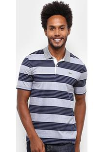 Camisa Polo Lacoste Live Jersey Bicolor Regular Fit Masculina - Masculino