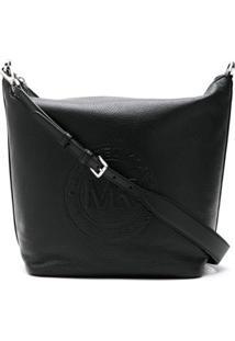 Michael Michael Kors Ss A4 Shoulder Bag - Preto