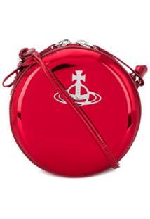 Vivienne Westwood Johanna Cross Body Bag - Vermelho