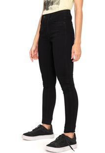 Calça Sarja Calvin Klein Jeans Skinny Lisa Preta