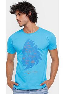 Camiseta Fatal Índio Perfil Masculina - Masculino