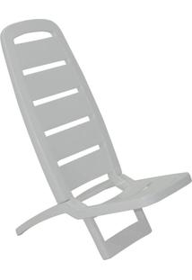 Cadeira Dobrável Guarujá Basic Branca