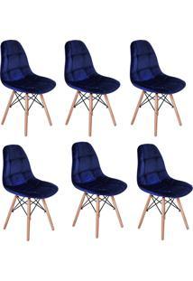 Cadeira E Banco De Jantar Impã©Rio Brazil Boton㪠- Azul/Incolor - Dafiti