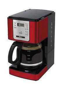 Cafeteira Eletrica Programavel24 Xicaras Vermelha 220 V - Oster - 4401R