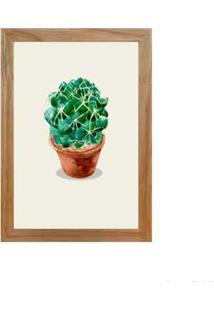Quadro Decorativo Cactus Iii 23X33Cm Rústico Infinity