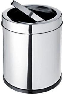 Lixeira Basculante 3,2 Litros Em Aço Inox – Decorline – Brinox