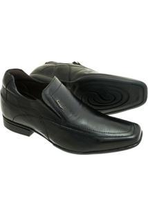 Sapato Sândalo Com Elevação Up Masculino - Masculino-Preto