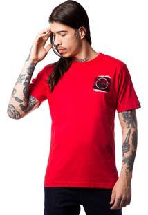 Camiseta Fallen Grunge Vermelho