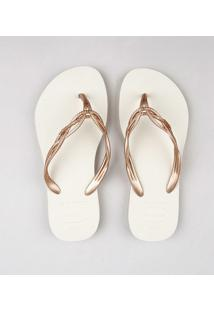 Chinelo Havaiana Flash Sweet Bege