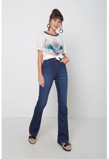 Calça Jeans Joplin Used Oh, Boy! Feminina - Feminino-Azul