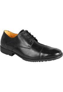 Sapato Social Derby Sandro Moscoloni Freport Masculino - Masculino-Preto