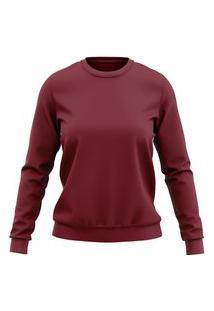 Moletom Lucinoze Camisetas Blusa Vinho Plus Size.