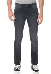 Calça Jeans Five Pocktes Slim Ckj 026 Slim - Preto - 46