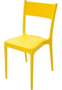 Cadeira Diana Amarela Tramontina