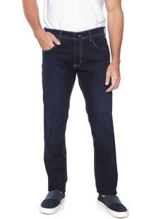 Calça Jeans Sergio K Reta Basic Azul-Marinho