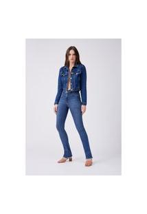 Calça Jeans Hera Boot Cut High Lança Perfume Calça Azul