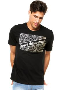 Camiseta Triton Mountain Preta