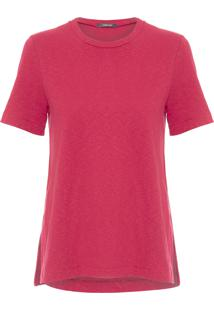 Blusa Feminina Long Rustic - Vermelho