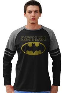 Blusa Bandup Dc Comics Batman Type Preto