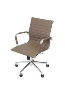 Cadeira Eames Baixa Fendi Base Cromada - 51549 Fendi