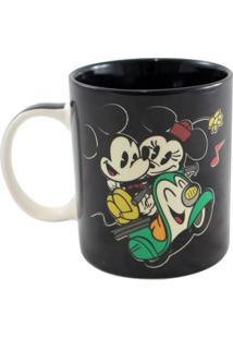 Caneca Magic Mickey E Minnie Unica