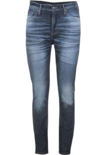 Calça Jeans Levis 510 Skinny Masculina - Masculino-Azul Escuro
