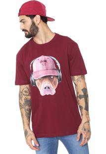Camiseta Dgk Red Nose Vinho