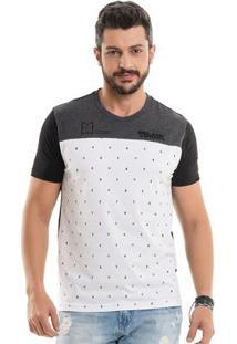 Camiseta Raios Preto Bgo