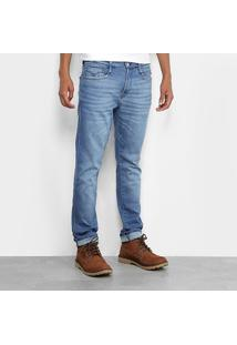 Calça Jeans Skinny Replay Estonada Masculina - Masculino-Jeans