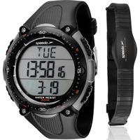 7d3bb7dc731 Kit Relógio Speedo Masculino Monitor Cardíaco 80565G0Epnp2