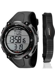8d964246cad ... Kit Relógio Speedo Masculino Monitor Cardíaco 80565G0Epnp2