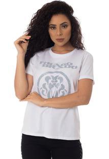 Camiseta Turnê A Jornada Thiago Brado Slim 6027000009 Branco