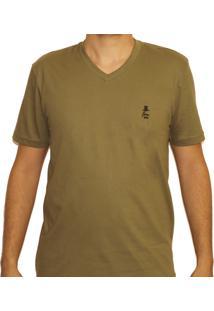 Camiseta Sir.W Basica Verde Militar