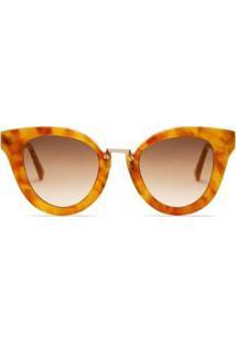 Óculos Anna Solar Demi Flama Livo Eyewear Feminino - Feminino