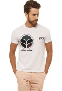 Camiseta Joss - Eco - Masculina - Masculino-Branco