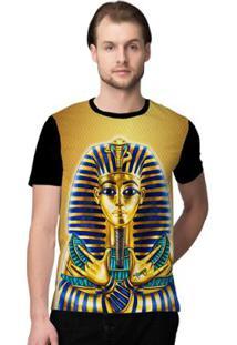Camiseta Stompy Gold Egypt Masculina - Masculino