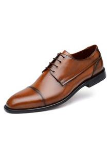 Derby Jacometti Cap Toe Damasco H05