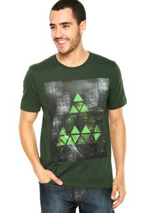 Camiseta M. Officer Triângulo Verde