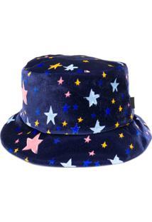 d997a8ce77ccb ... Boutique Moschino Chapéu Com Estampa De Estrelas - Azul