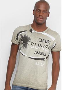 Camiseta Opera Rock Sunset Masculina - Masculino