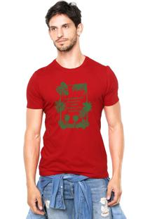 Camiseta Rgx La Capri Med Br Vermelha