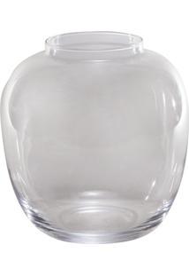 Vaso Bianco & Nero 23,5X22Cm Transparente