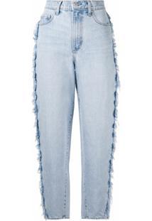 Nobody Denim Calça Jeans Pantalona Rigby - Azul