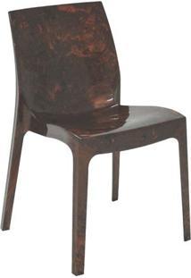 Cadeira Alice- Marrom Mogno- 80,5X53X51,5Cm- Tratramontina