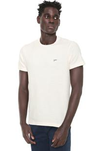 Camiseta Yachtsman Logo Off-White