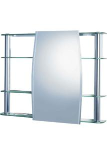 Espelheira Cris Slip 1310 62X64Cm Cris-Metal